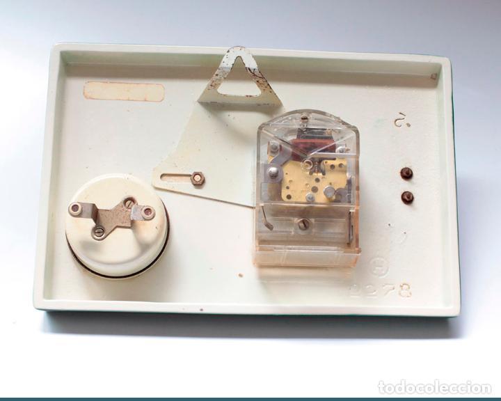 Relojes de pared: Reloj vintage de cocina con temporizador SARS electromecánico de porcelana, NOS!. Funciona. - Foto 5 - 231520505