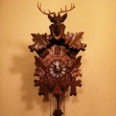 Relojes de pared: RELOJ CUCU-CUCO MADE IN GERMANY(SELVA NEGRA).. Lote 232348765