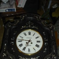 Relojes de pared: PRECIOSO RELOJ OJO DE BUEY SIGLO XIX MEDIADOS VER FOTOS Y DESCRIPCCION. Lote 233839050
