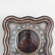Relojes de pared: CAJA PARA RELOJ DE OJO DE BUEY CON CRISTAL Y SU GONG (PARA RESTAURAR O PIEZAS) SIGLO XIX. Lote 234289405