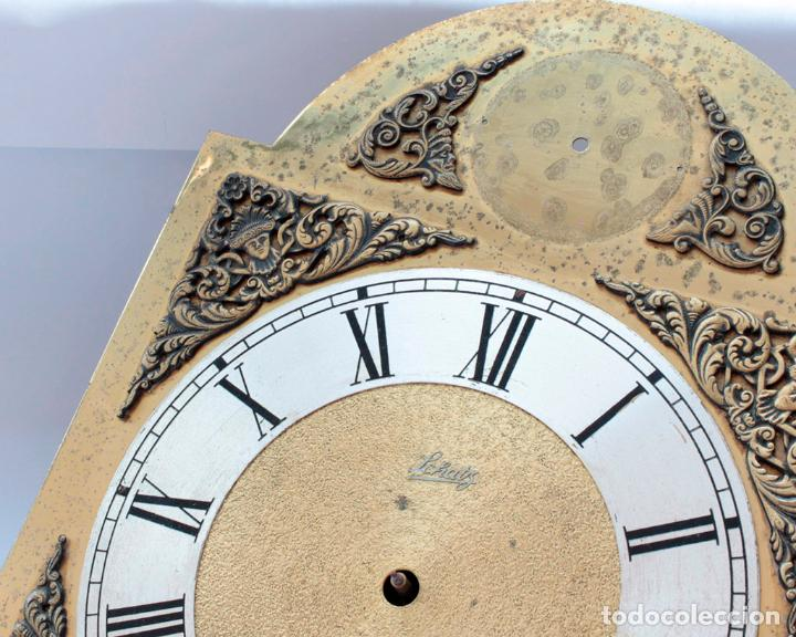 Relojes de pared: Reloj vintage de pared Alemán Schatz de pesas, antiguo stock! Ver fotos. - Foto 2 - 234909230
