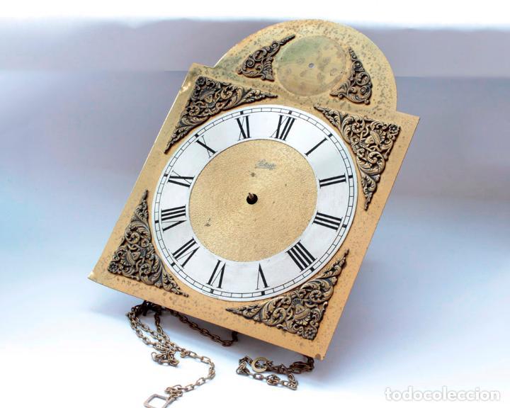 RELOJ VINTAGE DE PARED ALEMÁN SCHATZ DE PESAS, ANTIGUO STOCK! VER FOTOS. (Relojes - Pared Carga Manual)