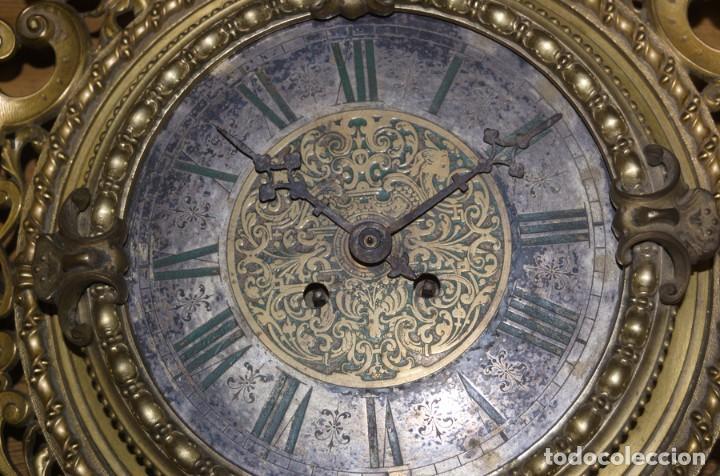 Relojes de pared: RELOJ ANTIGUO DE PARED GUSTAV BEQUER - 52cm - BRONCE MACIZO - RESTAURAR - Foto 14 - 184183228