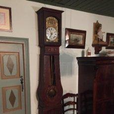 Relojes de pared: ANTIGUO RELOJ MOREZ CON CAJA ORIGINAL EN PLENO FUNCIONAMIENTO HUBERNI HERMANOS TARREGA SIGLO XIX. Lote 234969155