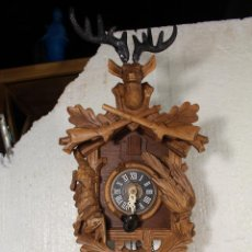 Relojes de pared: RELOJ CUCO ANTIGUO DE PARED. Lote 235861990