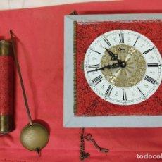 Relojes de pared: ANTIGUO RELOJ MARCA EPOCA. Lote 236177755