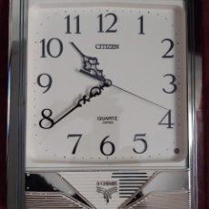 Relojes de pared: RELOJ DE PARED VINTAGE CITIZEN, WESTMINSTER CHIME + 2. Lote 237107570