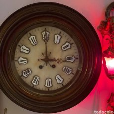 Relojes de pared: RELOJ DE PARED (OJO DE BUEY) LENZKIRCK DE FINALES DEL SIGLO XIX( PARA REPARAR ). Lote 237183340