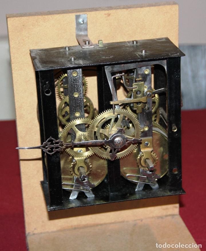 Relojes de pared: ANTIGUA MAQUINA RELOJ MOREZ - OJO DE BUEY - ULL DE BOU - FUNCIONA - Foto 6 - 238182430