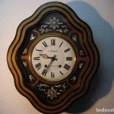 Relojes de pared: RELOJ DE PARED OJO DE BUEY J VAROUD. Lote 238491865