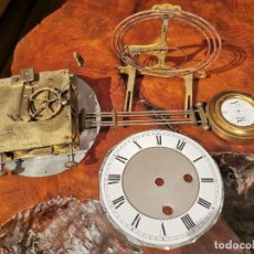 Relojes de pared: MAQUINARIA DE RELOJ DE PARED LENZKIRCH PARA RESTAURAR O PIEZAS. Lote 238588985