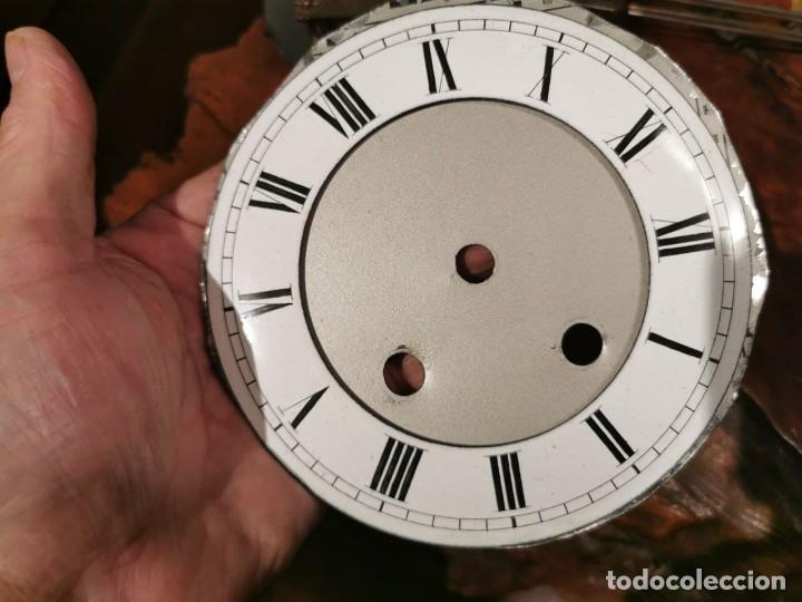 Relojes de pared: MAQUINARIA DE RELOJ DE PARED LENZKIRCH PARA RESTAURAR O PIEZAS - Foto 2 - 238588985