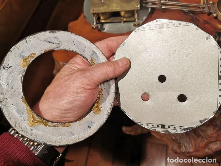 Relojes de pared: MAQUINARIA DE RELOJ DE PARED LENZKIRCH PARA RESTAURAR O PIEZAS - Foto 3 - 238588985