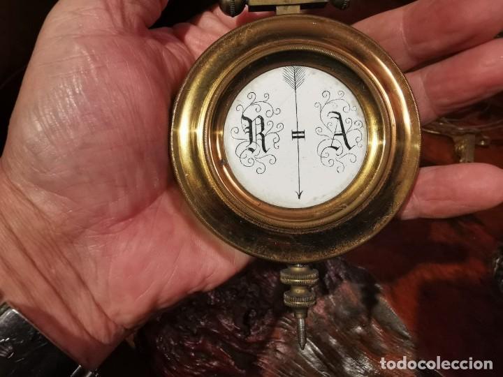 Relojes de pared: MAQUINARIA DE RELOJ DE PARED LENZKIRCH PARA RESTAURAR O PIEZAS - Foto 4 - 238588985