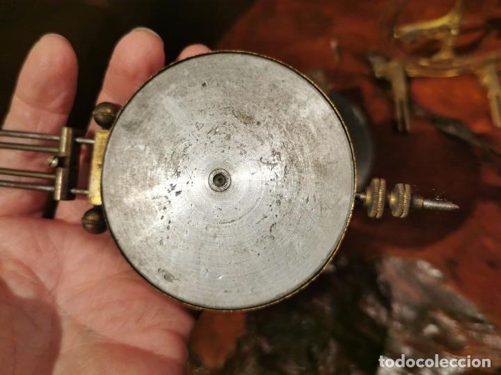 Relojes de pared: MAQUINARIA DE RELOJ DE PARED LENZKIRCH PARA RESTAURAR O PIEZAS - Foto 6 - 238588985