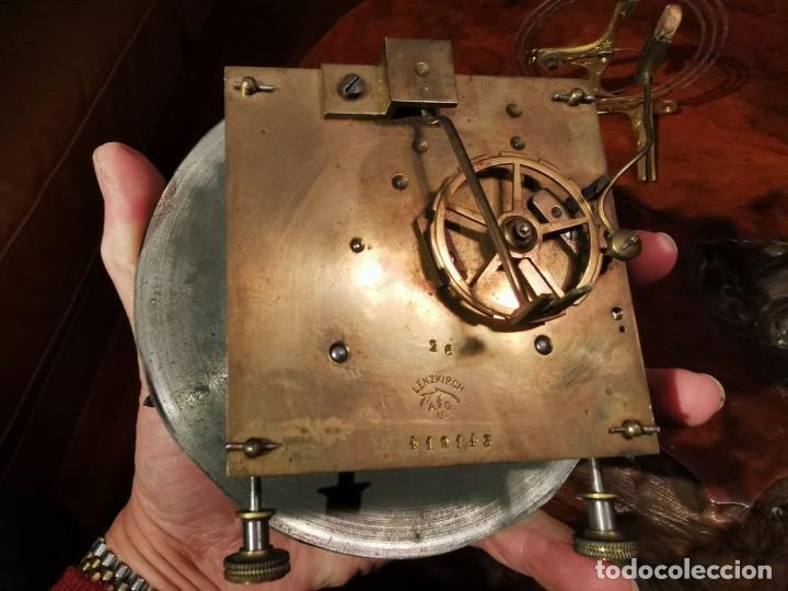 Relojes de pared: MAQUINARIA DE RELOJ DE PARED LENZKIRCH PARA RESTAURAR O PIEZAS - Foto 8 - 238588985