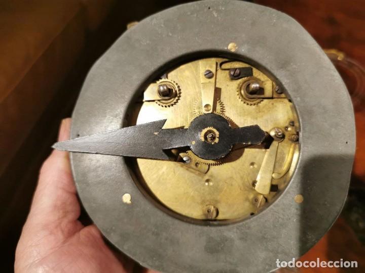 Relojes de pared: MAQUINARIA DE RELOJ DE PARED LENZKIRCH PARA RESTAURAR O PIEZAS - Foto 13 - 238588985