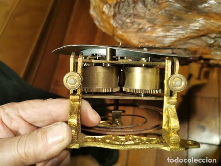 Relojes de pared: MAQUINARIA DE RELOJ DE PARED LENZKIRCH PARA RESTAURAR O PIEZAS - Foto 16 - 238588985
