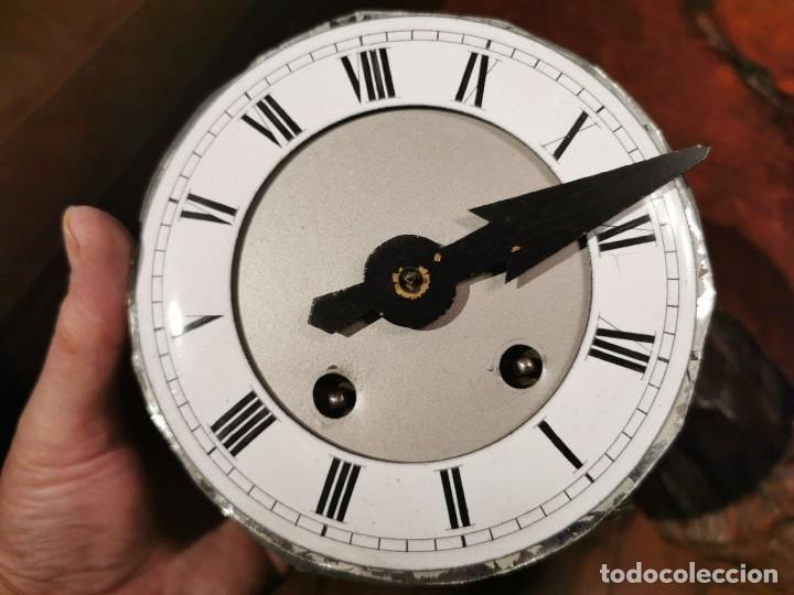 Relojes de pared: MAQUINARIA DE RELOJ DE PARED LENZKIRCH PARA RESTAURAR O PIEZAS - Foto 17 - 238588985