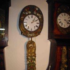 Relojes de pared: RELOJ PARED MORET ROSAS BLANCAS. Lote 238492200