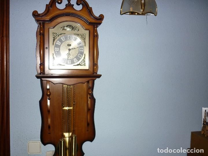 Relojes de pared: RELOJ DE PARED A PESAS - Foto 4 - 238875750