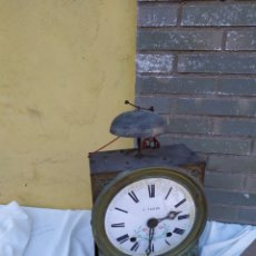 Relógios de parede: ANTIGUA CABEZA DE RELOJ MOREZ DE CAMPANA. Lote 242487330