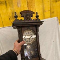 Relógios de parede: ANTIGUO Y PRECIOSO RELOJ DE PARED!. Lote 242918460