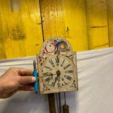 Relógios de parede: PEQUEÑO Y DIFICIL DE VER RELOJ DE RATERA 1800!. Lote 243064370