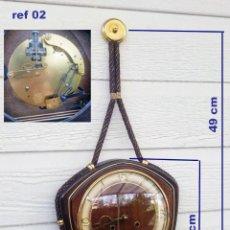 Relojes de pared: RELOJ DE PARED VINTAGE, HAID, DE CORDÓN CON GONG, REF 02. Lote 243446520
