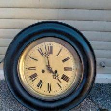 Relojes de pared: RELOJ DE PARED OJO DE BUEY VER FOTOS. Lote 243839785