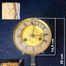 Relojes de pared: MÁQUINA KREUZPFEILL, RELOJ DE PARED, COMPLETO PARA RECAMBIO, REF 12.. Lote 243863215