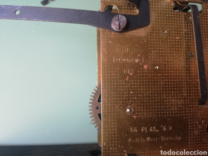 Relojes de pared: MAQUINARIA POSIBLE RELOJ DE PARED CUCO - FEINTECHINK MADE IN GERMANY - Foto 5 - 244492185