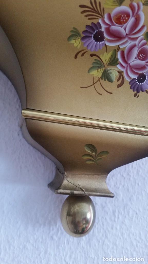 Relojes de pared: ANTIGUIO Y PRECIOSO RELOG ELUXA HECHO MADERA Y PINTAD MANO FONCIONA PERFECTO,TOCA LAS CAMPANAS AN 30 - Foto 12 - 244495000