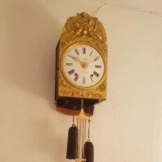 Relojes de pared: RELOJ MOREZ ANTIGUO DE CAMPANA MUY DETALLADO BUEN ESTADO FUNCIONA ALTA COLECCIÓN. Lote 244697510