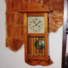 Relojes de pared: ANTIGUO RELOJ DE PARED ALEMAN. Lote 244871690