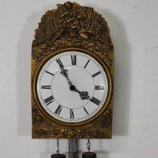 Relojes de pared: RELOJ DE PARED - TIPO RATERA - BONITA SONERÍA - FUNCIONA. Lote 245233310