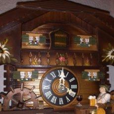 Relojes de pared: RELOJ SELVA NEGRA AUTOMATA Y MUSICAL. Lote 245745525
