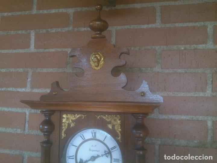 Relojes de pared: RELOJ DE PARED JUNGHANS - Foto 2 - 245992260