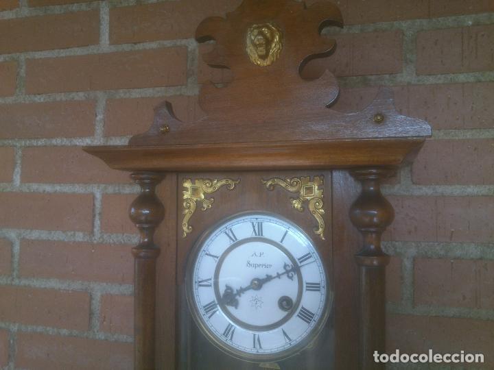 Relojes de pared: RELOJ DE PARED JUNGHANS - Foto 3 - 245992260