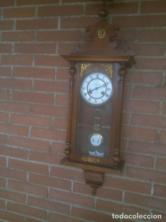 Relojes de pared: RELOJ DE PARED JUNGHANS - Foto 7 - 245992260