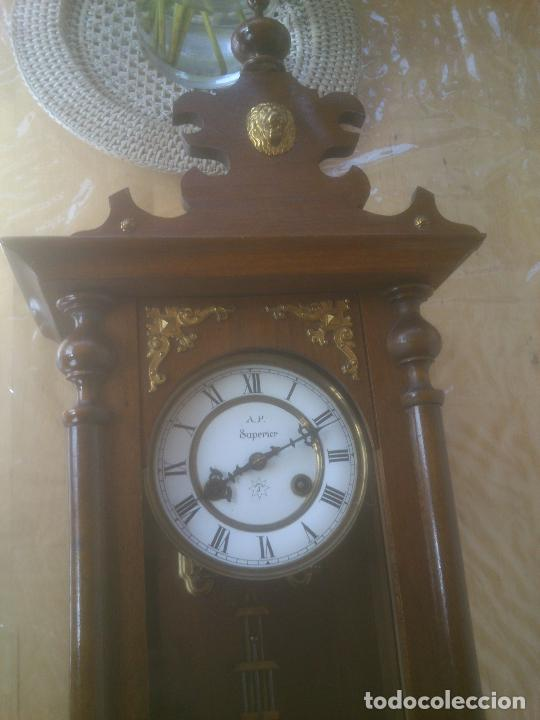 Relojes de pared: RELOJ DE PARED JUNGHANS - Foto 8 - 245992260