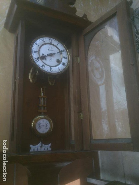 Relojes de pared: RELOJ DE PARED JUNGHANS - Foto 9 - 245992260