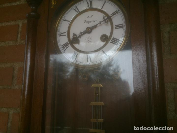 Relojes de pared: RELOJ DE PARED JUNGHANS - Foto 16 - 245992260