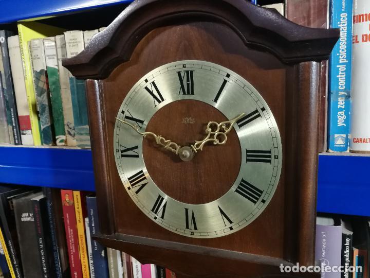 Relojes de pared: RELOJ DE PARED DE CUERDA ALEMÁN DE PESAS COLGANTE - Foto 2 - 246021810