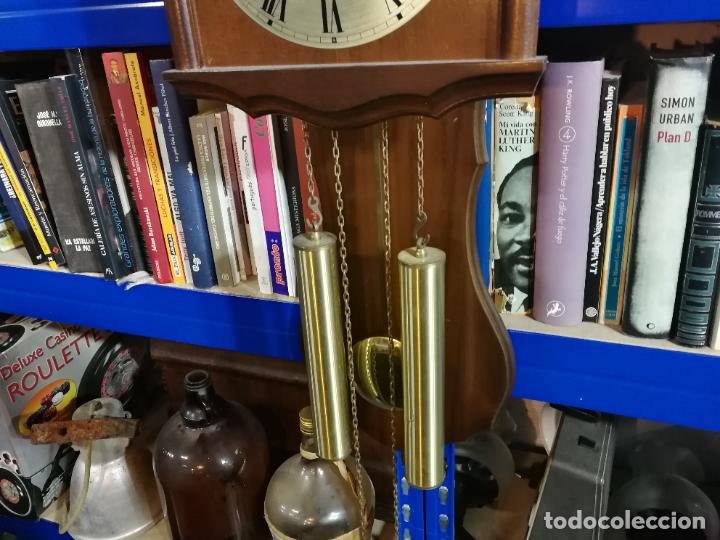 Relojes de pared: RELOJ DE PARED DE CUERDA ALEMÁN DE PESAS COLGANTE - Foto 3 - 246021810