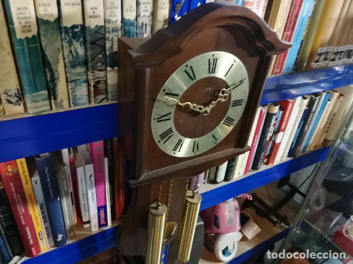 Relojes de pared: RELOJ DE PARED DE CUERDA ALEMÁN DE PESAS COLGANTE - Foto 8 - 246021810