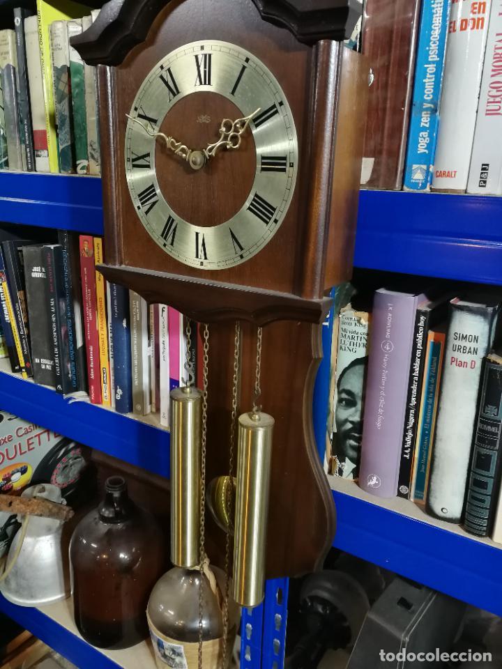 RELOJ DE PARED DE CUERDA ALEMÁN DE PESAS COLGANTE (Relojes - Pared Carga Manual)