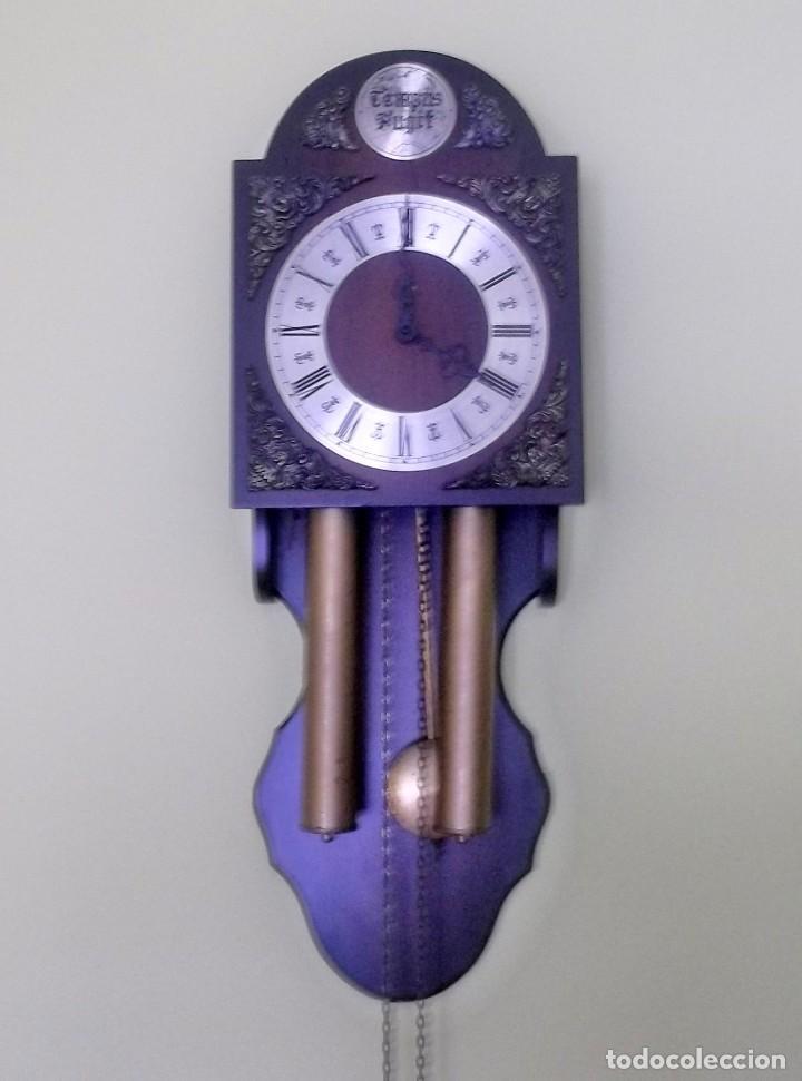 RELOJ DE PARED TEMPUS FUGIT-AÑOS 70 (Relojes - Pared Carga Manual)