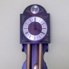 Relojes de pared: RELOJ DE PARED TEMPUS FUGIT-AÑOS 70. Lote 246364235