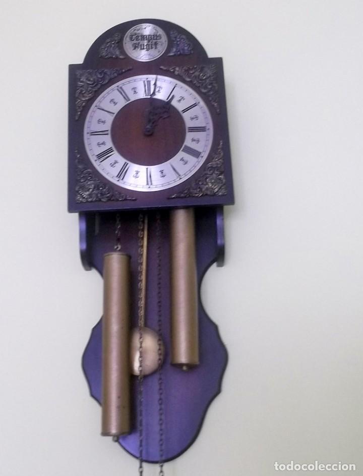 Relojes de pared: RELOJ DE PARED TEMPUS FUGIT-AÑOS 70 - Foto 5 - 246364235